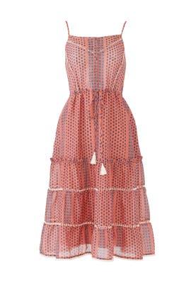 Azalea Printed Midi Dress by Greylin