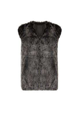 Viloria Faux Fur Vest by RAGA