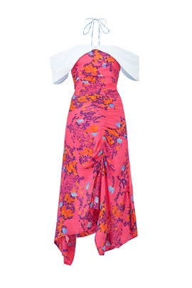 Pink Virgina Dress by Tanya Taylor