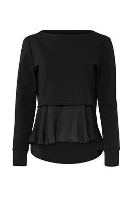 Black Layered Top by Slate & Willow
