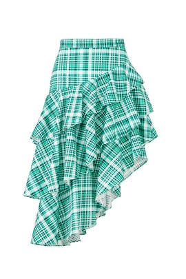 Plaid Pippie Skirt by AMUR