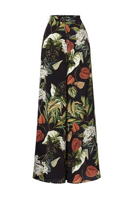 Floral Sabine Palazzo Pants by Nicholas