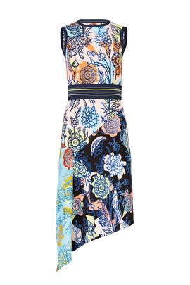 Patchwork Drape Dress by Peter Pilotto