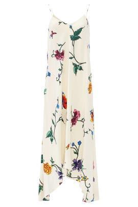 Bella Floral Handkerchief Maxi by Tibi