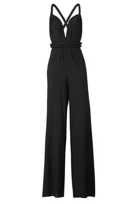 Black Classic Jumpsuit by twobirds