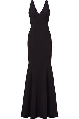 Black Rockefeller Gown by Jay Godfrey