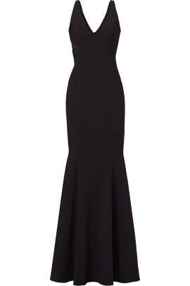 Black Rockefeller Gown by Jay Godfrey