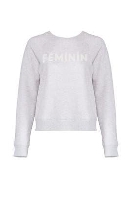 Feminin Sweatshirt by Rebecca Minkoff