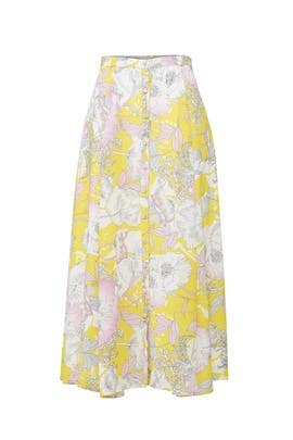 Floral Trinity Skirt by Yumi Kim