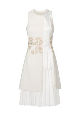 Ivory Roundabout Dress by Bibhu Mohapatra