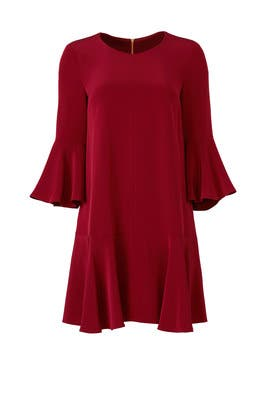 Merlot Trapeze Dress by Slate & Willow