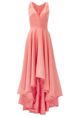 Coral Marilyn Gown by allison parris