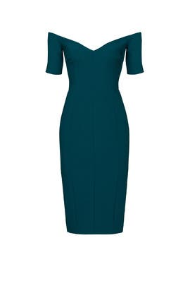 Teal Jolie Dress by Cinq à Sept