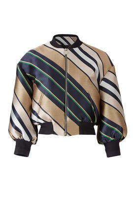 Multicolor Bomber by Carven