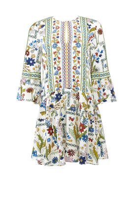 Ivory Meadow Daphne Dress by Tory Burch