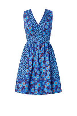 Blue Tangier Floral Dress by kate spade new york