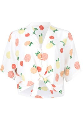 Fruit Print Thea Top by Rails
