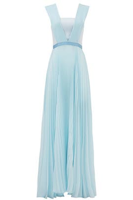 Glacier Blue Gown by Vionnet