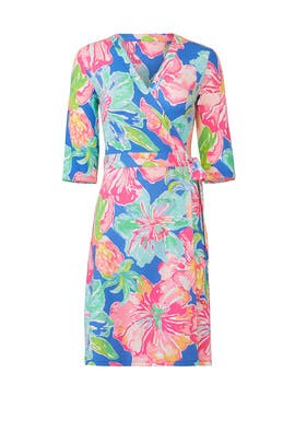 Marvista Wrap Dress by Lilly Pulitzer