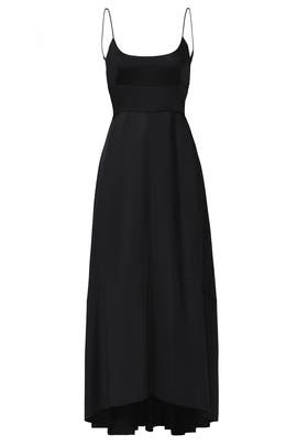Black Ink Gown by Narciso Rodriguez