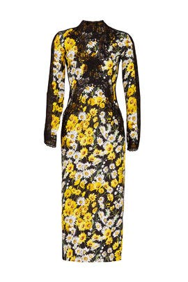 Daisy Faye Midi Dress by NAEEM KHAN