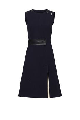 Blue Nelly Dress by Cedric Charlier