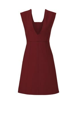 Bordeaux Charlie Dress by Elizabeth and James