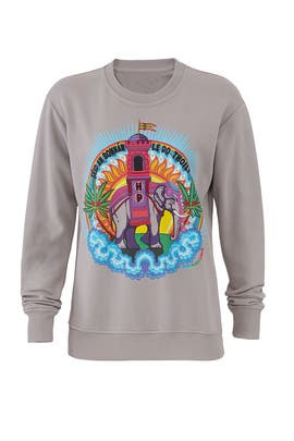 Grey Elephant Sweatshirt by Horn Please!