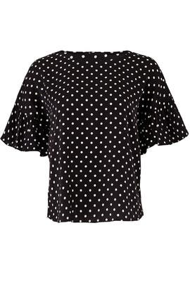 Polka Dot Blouse by Slate & Willow
