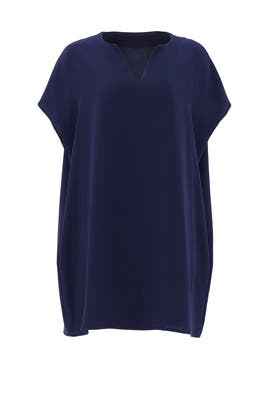 Navy Kora Dress by Diane von Furstenberg