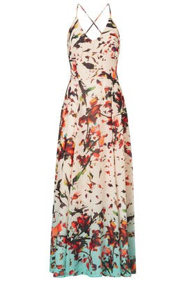 Crinkle Chiffon Floral Dress by Rachel Rachel Roy