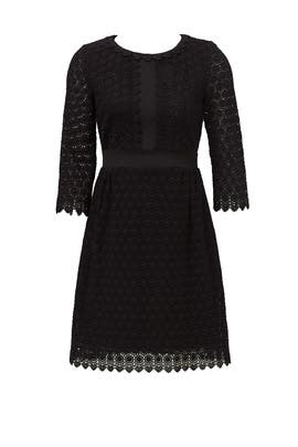 Black Nolly Dress by Diane von Furstenberg