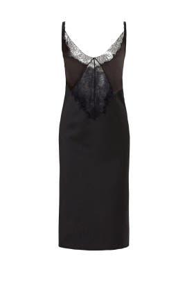Black Diamond Lace Dress by Nina Ricci