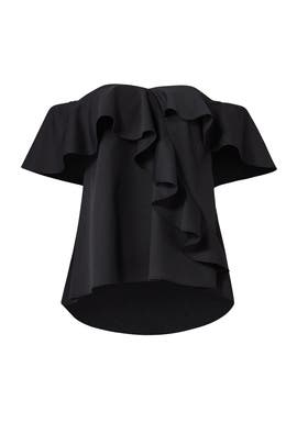 Black Winnie Top by Sachin & Babi