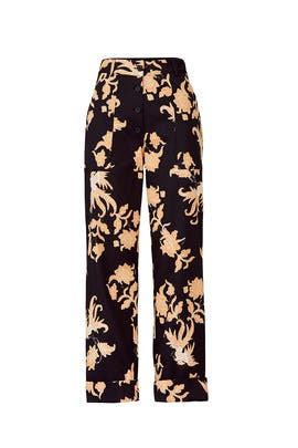 Printed Wide Leg Pants by Scotch & Soda
