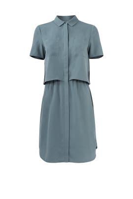 Green Esther Pocket Dress by Cooper & Ella
