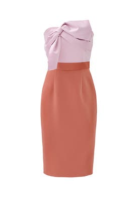 Color Block Twist Sheath by Cynthia Rowley