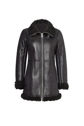 Black Jules Coat by Marc New York