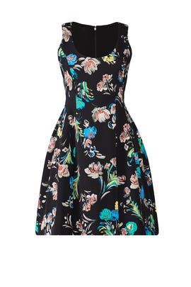 Floral Cady Dress by Prabal Gurung