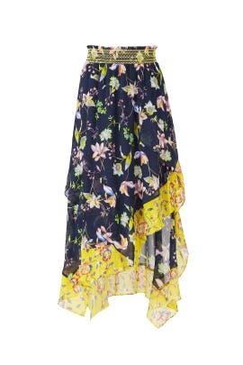 Garden Print Esmee Skirt by Tanya Taylor