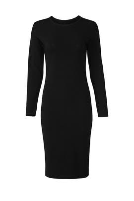 Black Fitted Dress by VINCE.