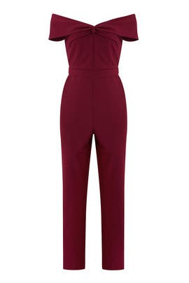 Karlie Woven Jumpsuit by Adelyn Rae