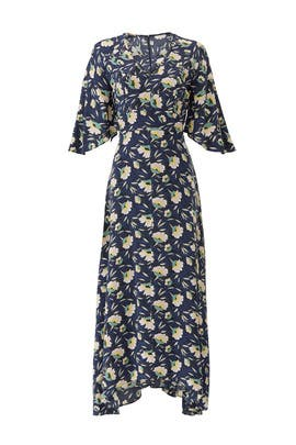 Painted Floral Maxi by Slate & Willow