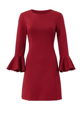 Red Panache Dress by Trina Turk