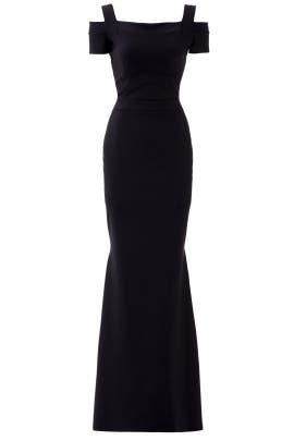 Black Jenna Gown by La Petite Robe di Chiara Boni