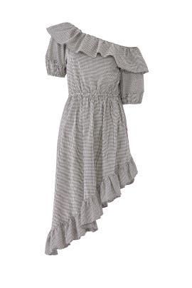 Gingham Haley Dress by LoveShackFancy