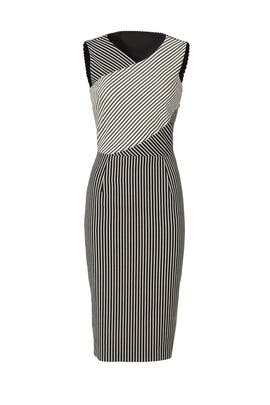 Mixed Stripe Sheath by Rachel Rachel Roy