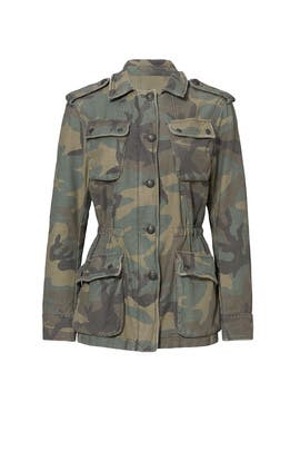 Not Your Brother's Camo Surplus Jacket by Free People