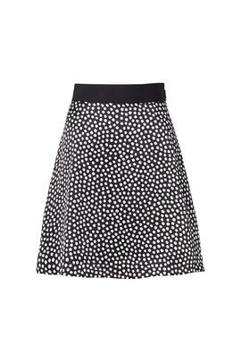 Spot Silk Flip Skirt by kate spade new york