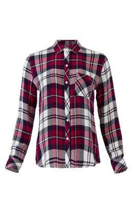 Plaid Hunter Shirt by Rails